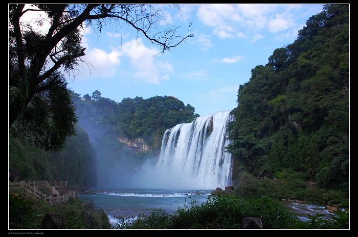 the huangguo tree waterfall
