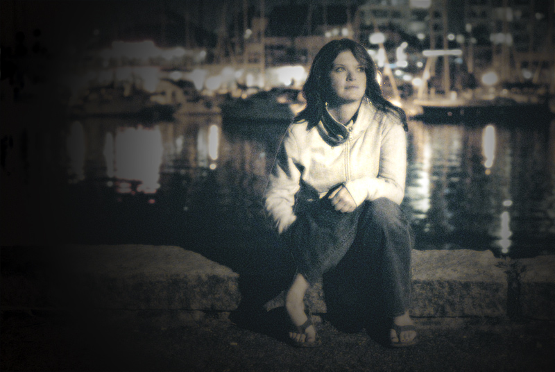 Girl at the Harbour
