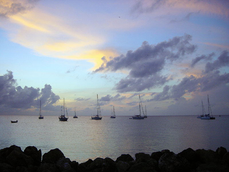 Coco Reef sunset