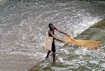 Title: Fisherman in Ghana