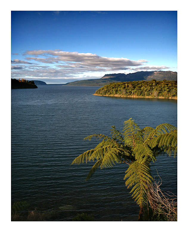 Lake Tarawera late afternoon