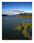 Title: Lake Tarawera late afternoonCanon 5D