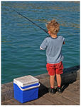 Title: Young Angler