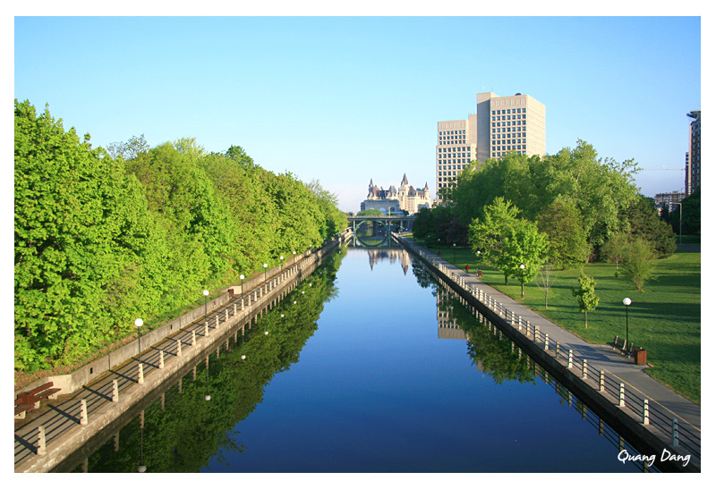 Morning In Canal Rideau