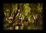 Title: Swing on the river