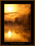Title: Dawn above the Misty River