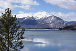 Title: Colorado rockies and Dillon Lake
