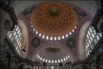 Title: Interior of Sulemaniye Mosque