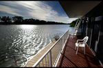 Title: house boat on the MurrayPentax K10D