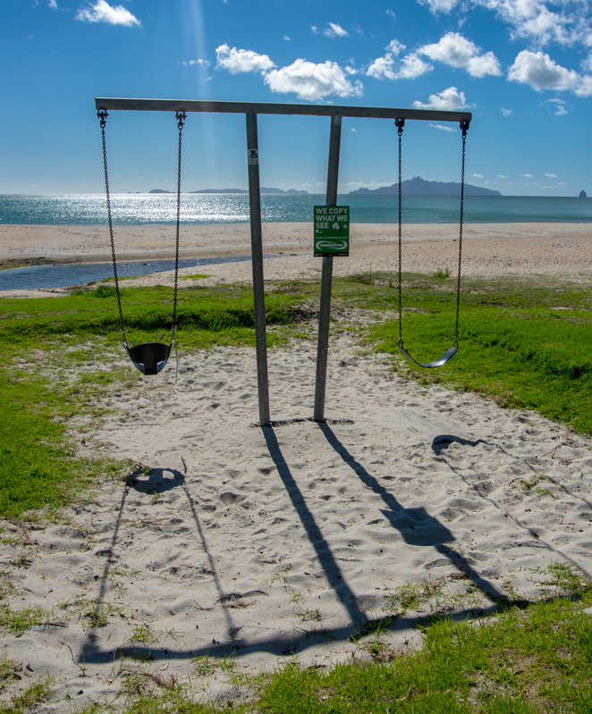 Children wanted for empty swing