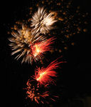 Title: New Year's firework