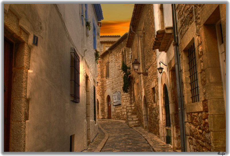 My Street in Sitges