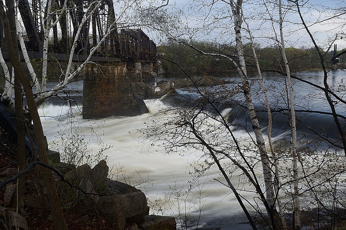 Head of Falls, Winslow Maine