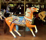 Title: Magnificent Carousel Horse