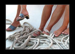 Title: feet on ropes