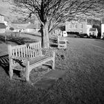Title: bench at Reeth