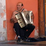 Title: The Accordion PlayerCanon EOS 400D