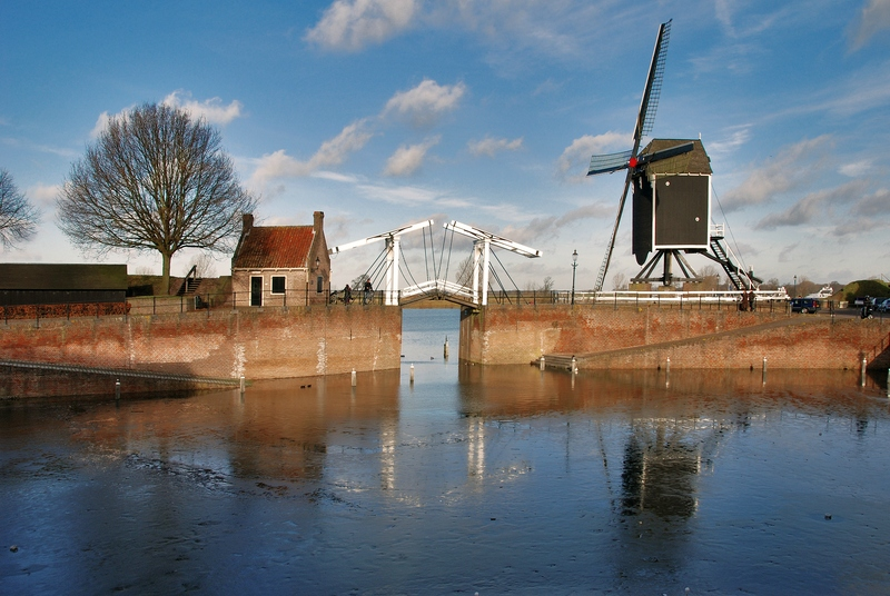 The bridge and the mill.....