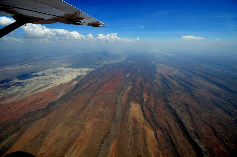 over the land of the Masai