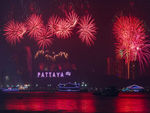 Title: new Year Fireworks Pattaya