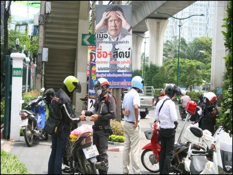 Election Poster Bangkok