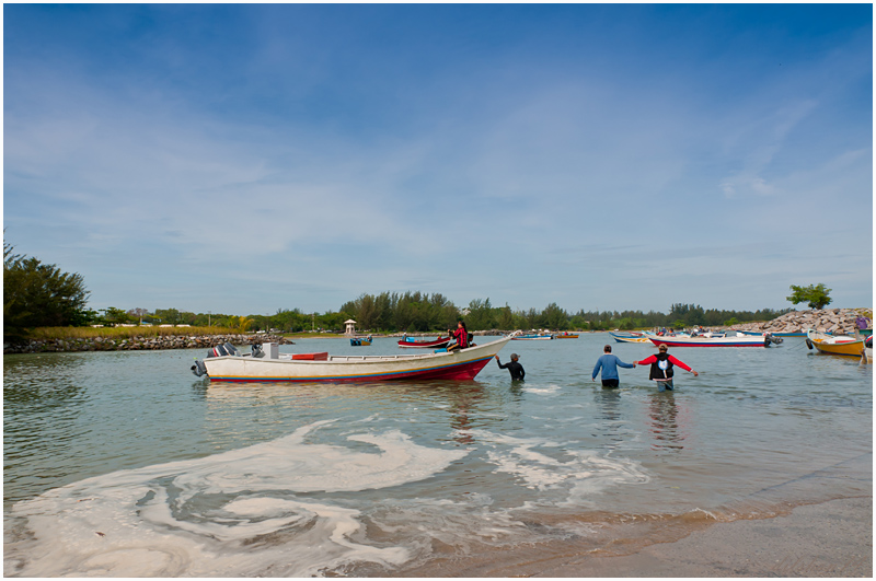 The Jerudong Boat Ramp