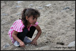 Title: Chloe in the sand