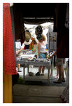 Title: VENDOR'S TENT-DOMINICA