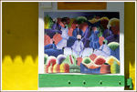 Title: POSTER ON COLORED WALL-DOMINICANikon D100