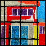 Title: The House Behind the Wire Mesh