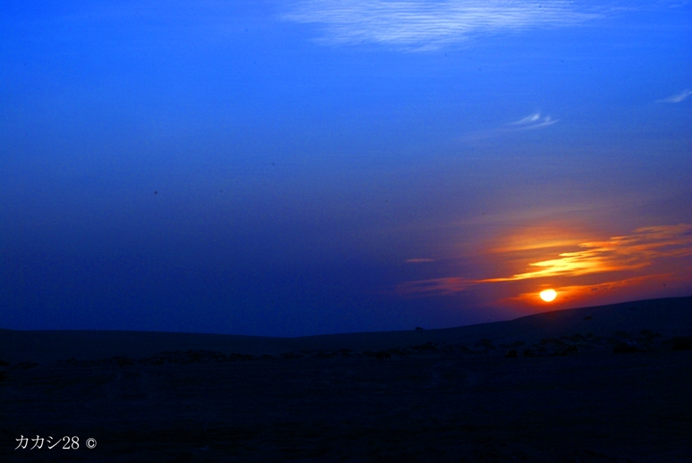 middle eastern sunset