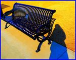 Title: Blue Bench?