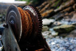 Title: Rusting Winch