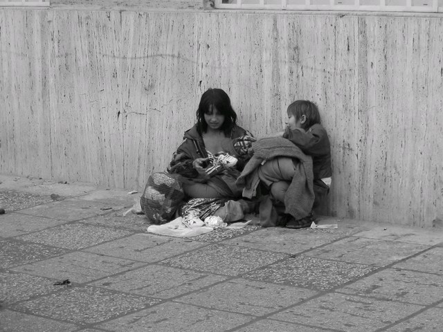 Childrens on the street