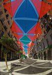 Title: Street-Shade in Madrid