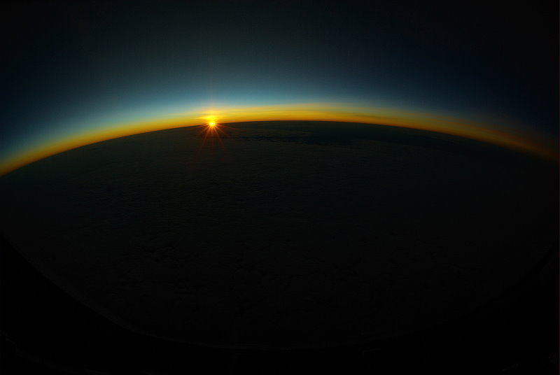 Sunset from 37,000'