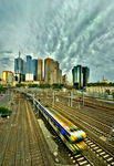 Title: Melbourne by Train