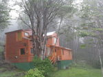 Title: House in the misty forest ( Original ShoCanon PowerShot S5 IS