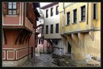 Title: In the old town of Plovdiv