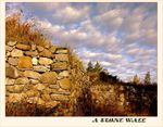 Title: Simply  ' a stone wall '