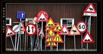 Title: Road signs of Norway
