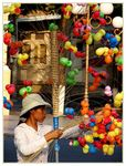 Title: Street vendor in VientianeSONY DSC-H2