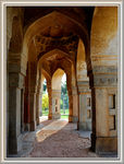Title: Tomb in Lodhi Gardens