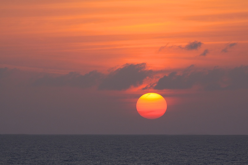 End of Day - Caribbean