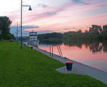 Title: Erie Canal SunsetOlympus E-300 EVolt