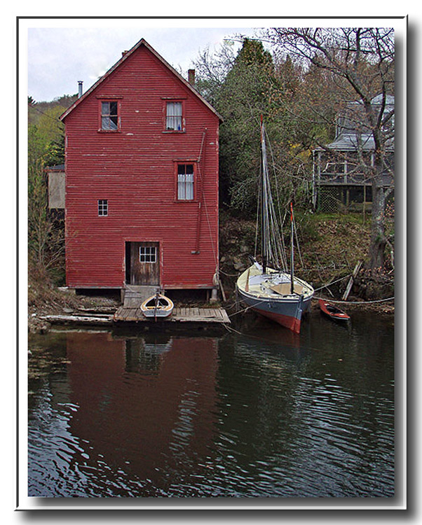 The Red Boathouse