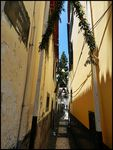 Title: narrow alley