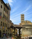 Title: the well in the piazza