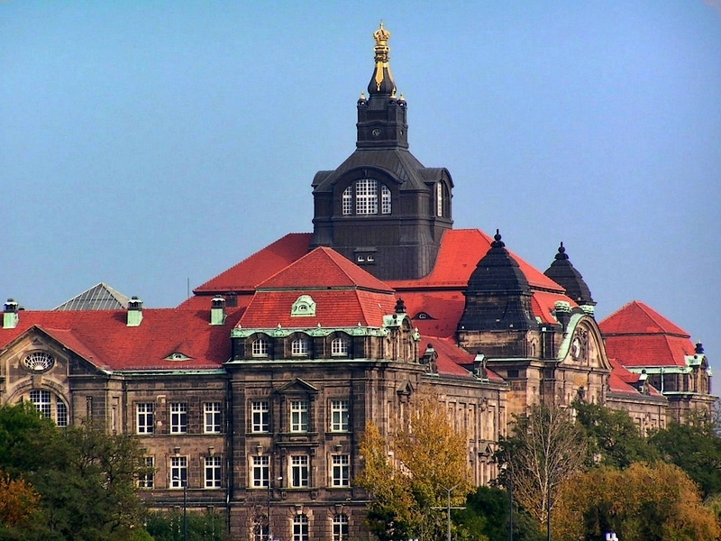 roofs of Dresden