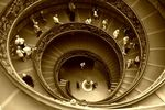 Title: The spiral of stairs